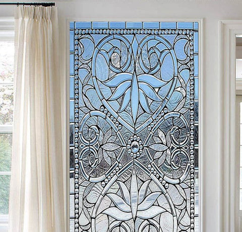 stained glass pattern panels