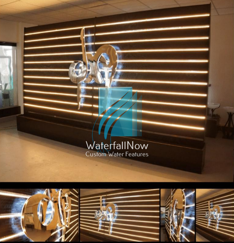 Custom water wall LED 13.5x8.4ft WWFSRC2050a