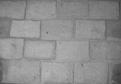 Quarry Stone Plastic Scenic Panels - U-1004