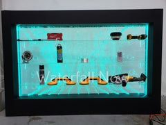 LED Bubble Wall Bar Acrylic Shelf - 120cm x 180cm - RGB