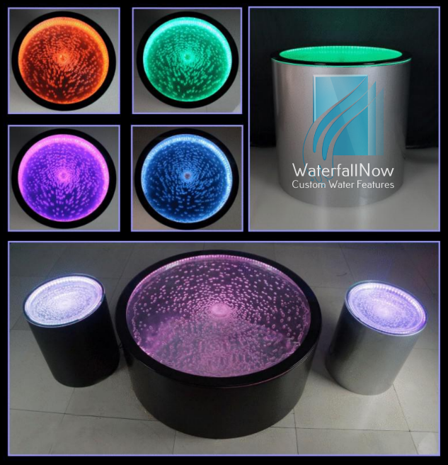 LED Bubble Table And Seat - bwptc405