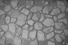 Vacuform River Stone Jagged & Worn Scenic Sheets - U-207