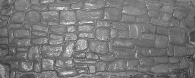 Tight Fitted Stacked Stone Wall Scenic Panels - ST-004