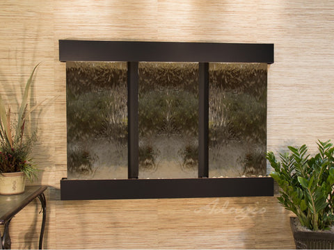 Wall Fountain - Olympus Falls - Bronze Mirror - Blackened Copper - Squared - ofs1541