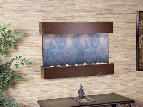 Wall Fountain - Reflection Creek - Black FeatherStone - Copper Vein - rcs5011