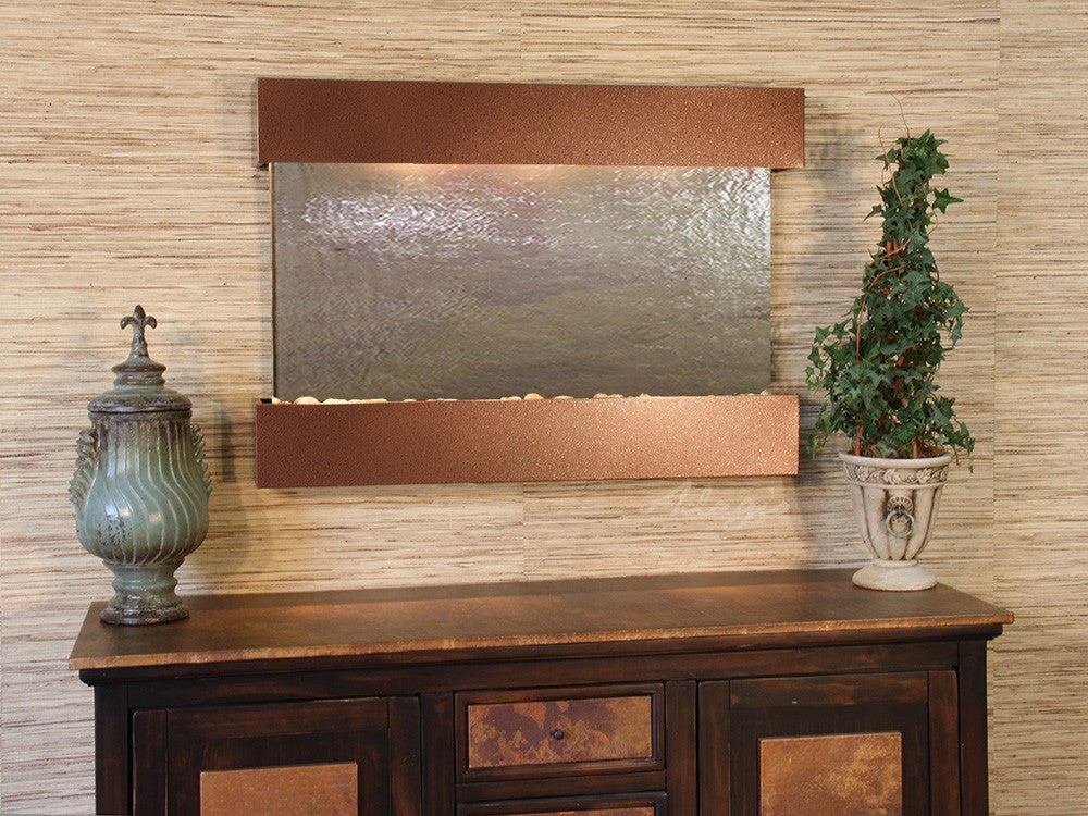 Wall Fountain - Reflection Creek - Multi-Color FeatherStone - Woodland Brown - rcs3714