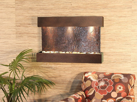 Wall Fountain - Reflection Creek - Multi-Color Slate - Copper Vein - rcs5004