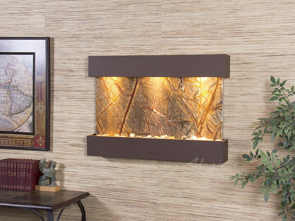 Wall Fountain - Reflection Creek - Rainforest Brown Marble - Woodland Brown - rcs3706