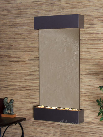 Wall Fountain - Whispering Creek - Green Slate - Woodland Brown - wcs35412