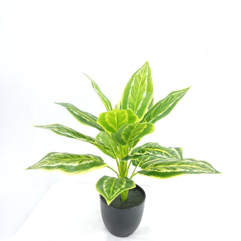 Water Arum - Artificial Plant Silk Leaves