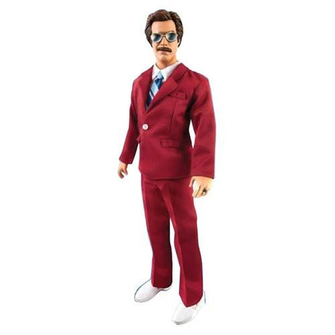 "Anchorman Ron Burgundy 13"" Tall Talking Action Figure"