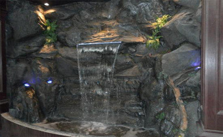 Custom Artificial Rock Waterfall #crw00060