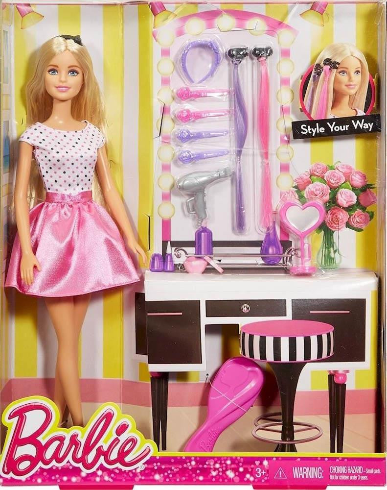 Barbie Style Your Way Doll & Playset