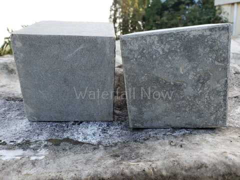 Basalt Flamed Paver Cube Blocks