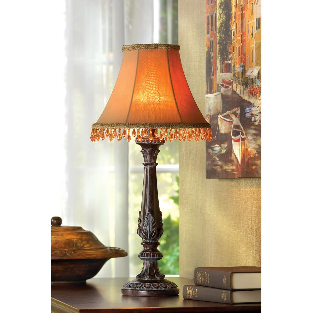 Beaded table lamp waterfallnow beaded table lamp geotapseo Images