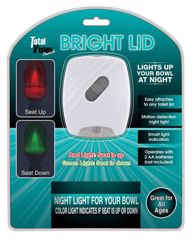 Bright Lid Toilet Night Light