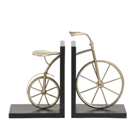 Charming Bicycle Bookends