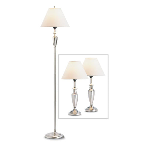 Contemporary Lamp Set