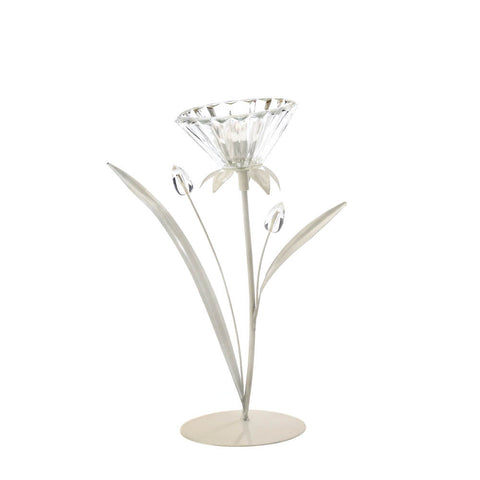 Crystal Posy Candle Holder