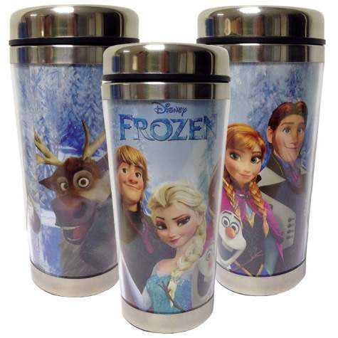 Disney Frozen Characters 16 Oz. Travel Mug