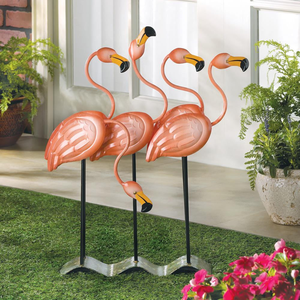 Flock O' Flamingos Flamingo Decor