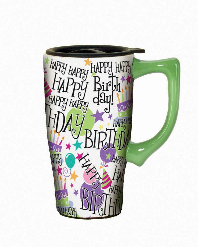 Happy Birthday Travel Mug