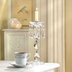 Jeweled  Candle Holder