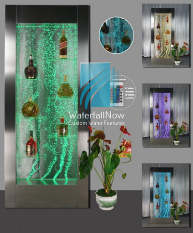 LED Bubble Wall - Framed - Free Standing - sbwpc701