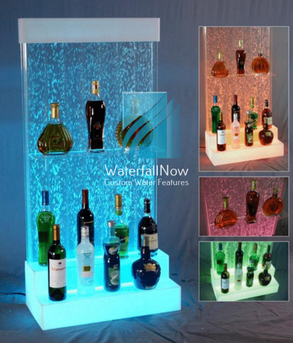 led bubble wall drink bar TBWa1601w
