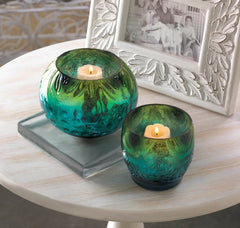 Mediterranean Swell Candle Holder