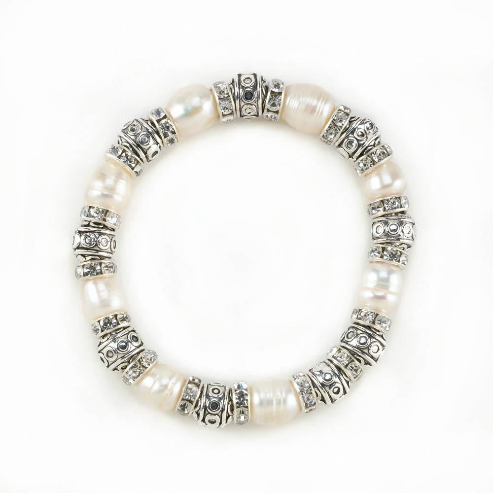 Pearl Bead Stretch Bracelet