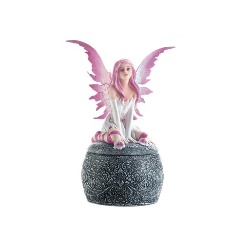 Pink Winged Fairy Box