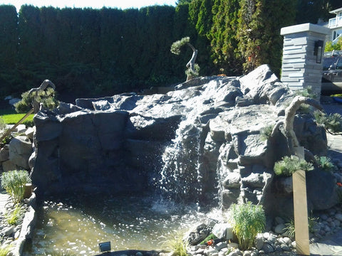Artificial Rock Waterfall #crw00052