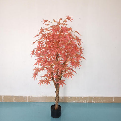 Red Maple Tree - Artificial Silk Tree