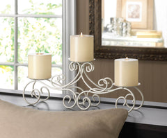 San Marino Pillar Candle Holder Stand