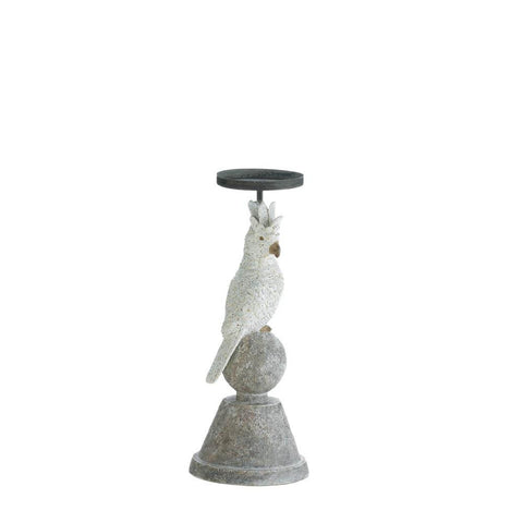 Slender Cockatoo Candle Holder