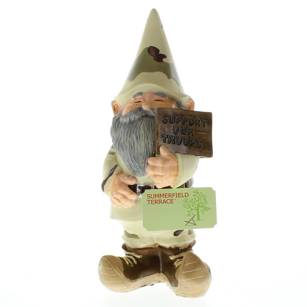 Support Our Troops Gnome
