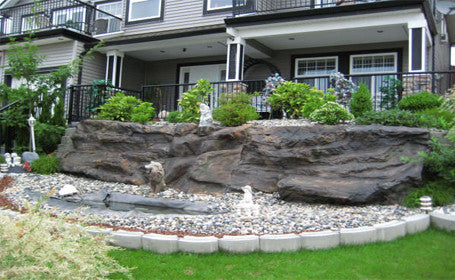 Artificial Rock Waterfall #crw00064
