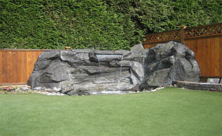 Custom Artificial Rock Waterfall #crw00061