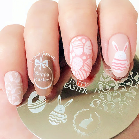 BORN PRETTY BP60 Easter Bunny Egg Nail Art Stamping Plates