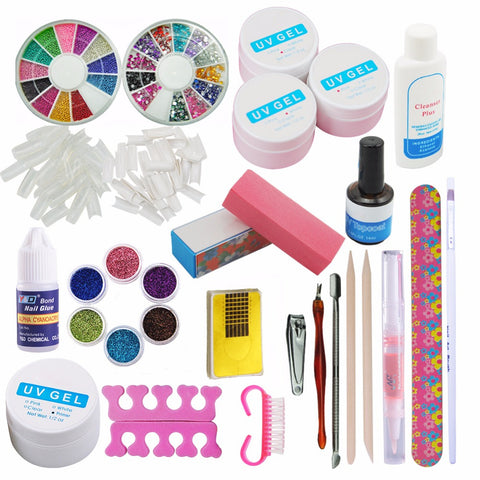 Full Pro UV GEL Nail Art Kit