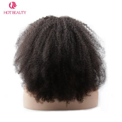 Brazilian Afro Kinky Curly Short Hair Wig