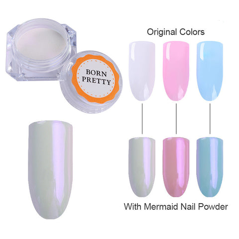 BORN PRETTY Mermaid Pearl Glitter Powder
