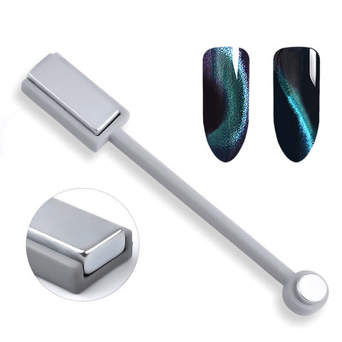 Double-head Strong Magnetic Plate Cat Eye Magnets Nail Art Tools
