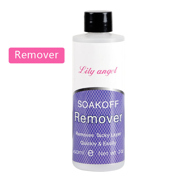Lily angle 60ML Nail Art Acrylic UV Gel Remover Tip Cleanser/ Remover
