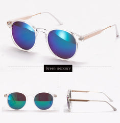 Ralferty Transparent Frame Anti UV Sun Glasses
