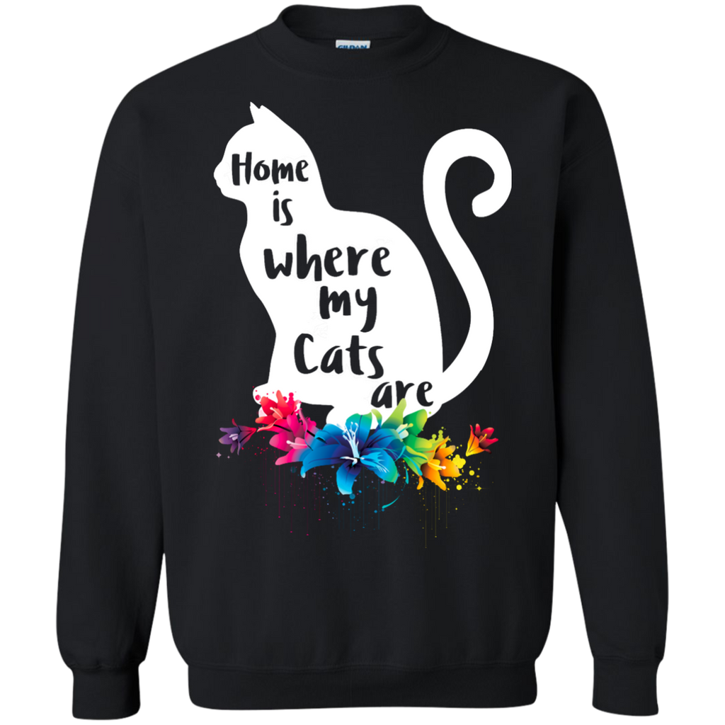 Home is Where My Cats Are Apparel