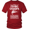 Image of Cool Fishing Grandpa T- Shirt