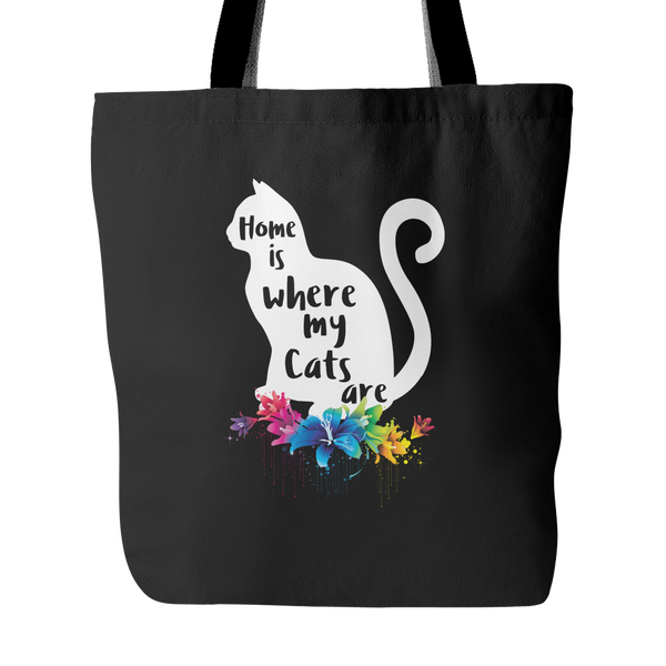 Home is Where My Cats Are Tote