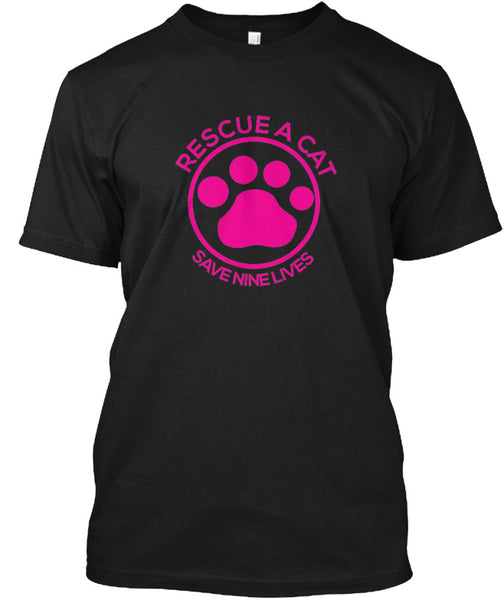 Rescue A Cat Tee